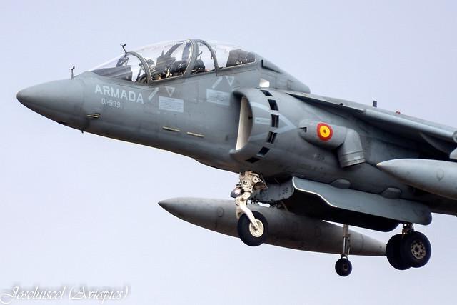 Photo:VA.1B-40 Harrier By joseluiscel (Aviapics)