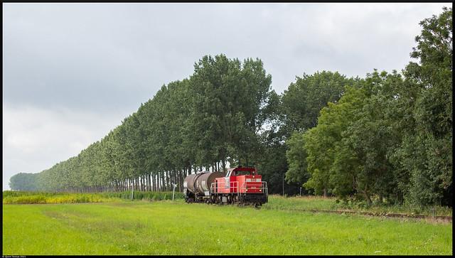 Photo:DBC 6520 // Keteltrein // Zandstraat, Kleine Sint Albertdijk // 20 augustus 2021 By Quinn Torsius