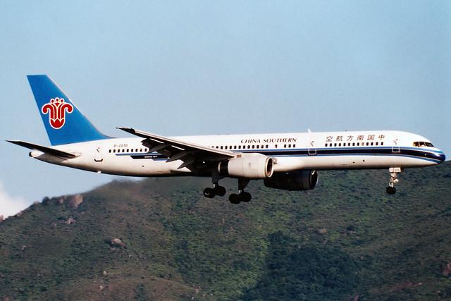 China Southern Airlines | Boeing 757-200 | B-2818 | Hong Kong International