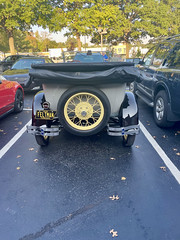 1928 Model A Ford back