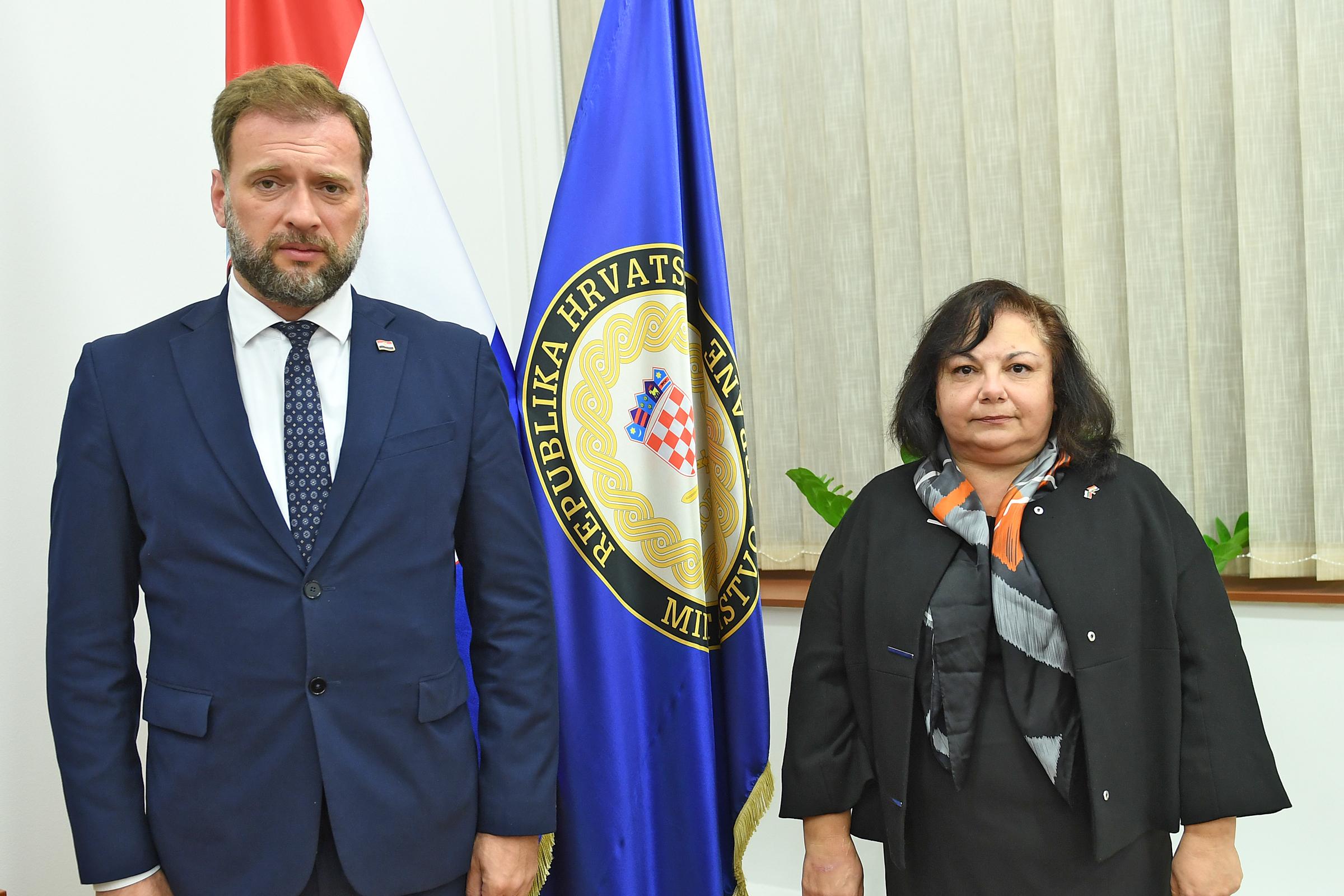 Veleposlanica Bugarske u nastupnom posjetu Ministarstvu obrane