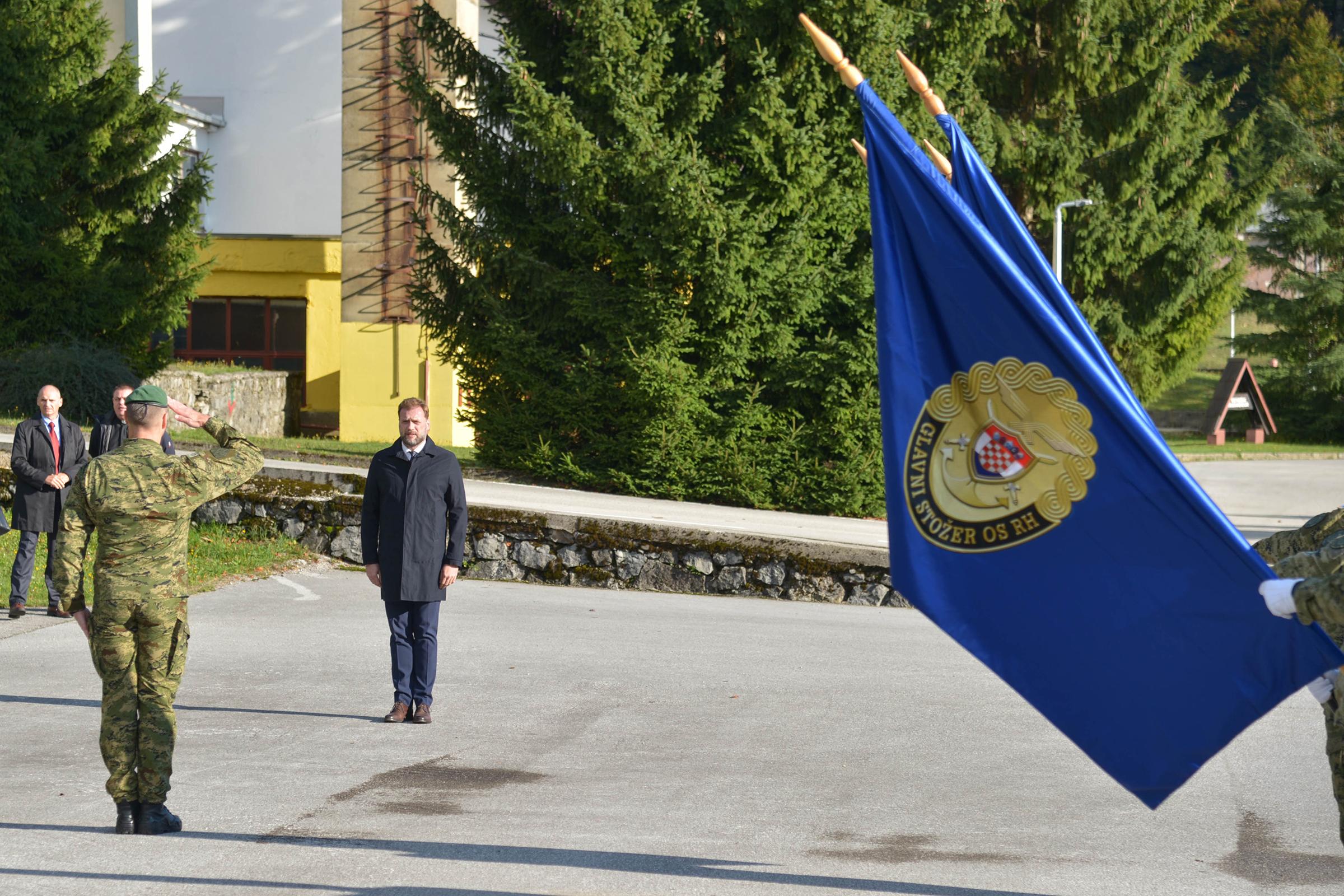 Primopredaja dužnosti zapovjednika Zapovjedništva specijalnih snaga