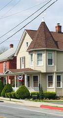Main Street, Myersville, Maryland, May 2020