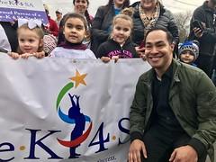 Julian Castro MLK March