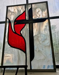 Methodist window for Wendy Rigby's daughter