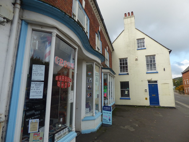 Photo:Groom Barber Shop - 60 West Street, Bridport and The Lily Hotel By ell brown