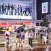 Rainy night at Causeway Bay, Hong Kong