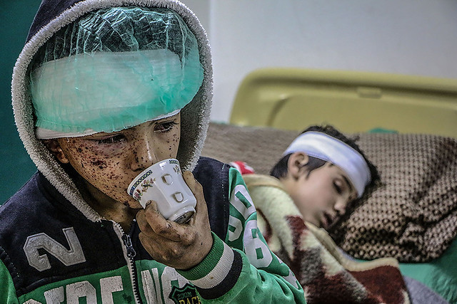 Photo:War-weary eyes By IAPB/VISION 2020