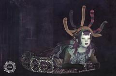 Serpent Headdress - NOW at Hallow Manor