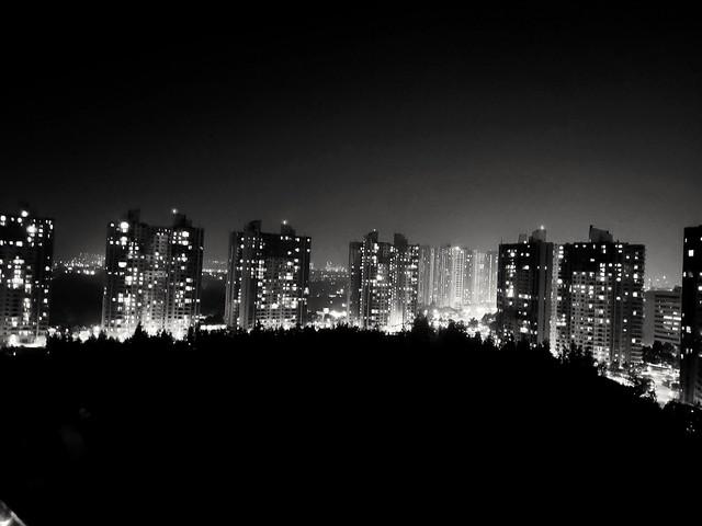 Photo:bright lights big city. #Pune #blackandwhite By calamur
