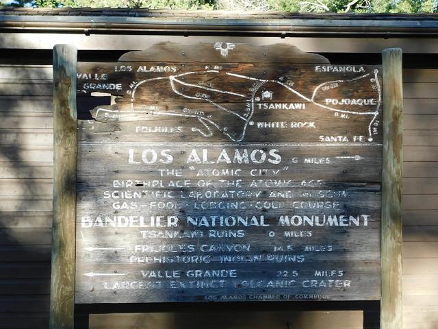 Photo:Old Los Alamos Sign By jimmywayne
