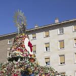 Virgen Ofrenda de Flores 2021 Lateral