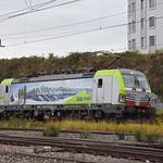 Siemens Vectron 475 416-4 der BLS durchfährt am 20.09.2021 den Bahnhof Pratteln.