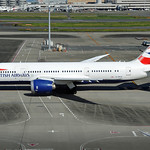 British Airways B787-8 G-ZBJE