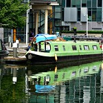 Paddington Basin House Boats & Reflections 217r-1