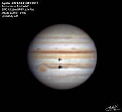 Jupiter 2021-10-21 01:33 UTC