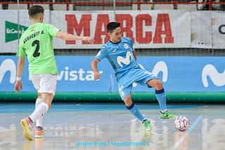 1ªRFEF J3 | Movistar Inter FS - Viña Albali Valdepeñas (4-0)