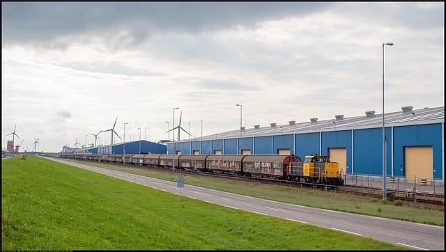 Photo:DBC 6461 // Schuifwandwagens // Nieuwdorp, Oostenrijkweg // 10 september 2021 By Quinn Torsius
