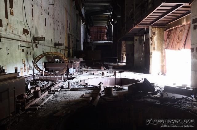 Photo:Chernobyl power plant - Reactor #5 By Pigeoneyes.com