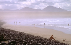 Famara Beach 2002