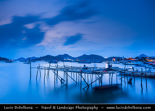 Indonesia - Flores Island - Blue Hour at Labuan Bajo