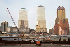 World Trade Center Site After 9/11 Feb. 2002