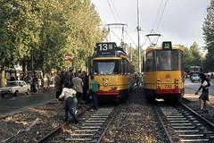 Tramlijn 13 in the 60'ties and seventies