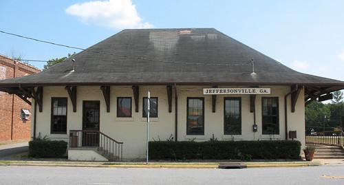 Old MD&S Train Depot Jeffersonville GA