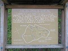 Saint-Pol-sur-Ternoise (château) panneau informatif • 5219 - Photo of Saint-Pol-sur-Ternoise
