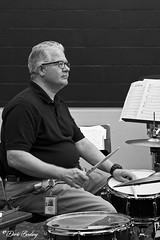 Clearwater Community Jazz Band Rehearsal - 2012