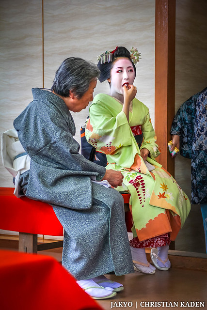 Photo:Maiko with old Lady By Christian Kaden