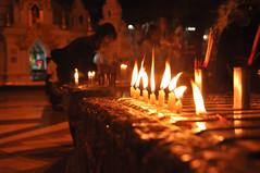 Shwedagon Candles