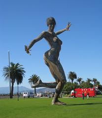 Bliss Dance Statue on Treasure Island