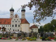 Benediktbeuern Abbey (Kloster Benediktbeuern) - in Benediktbeuern, Bavaria, Germany