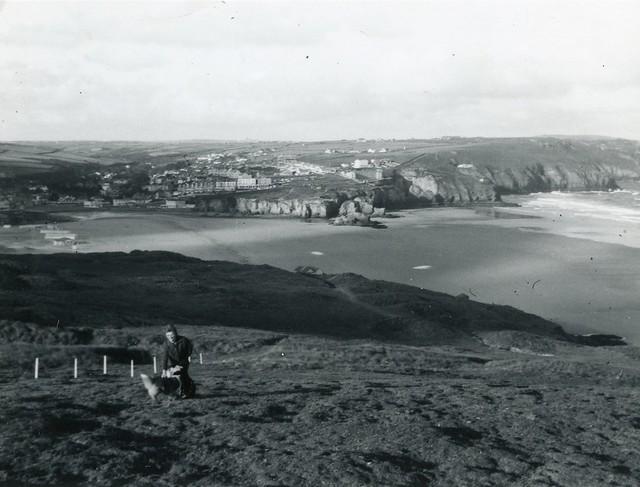 Photo:Perrin Bay, Perranporth (050198) By Bob Linsdell